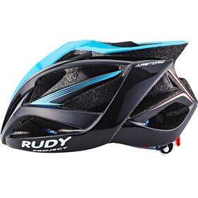 Rudy Project Airstorm - Casco de bicicleta - negro/Turquesa